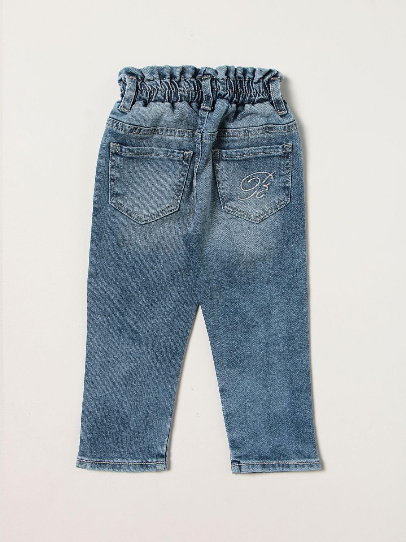 Jeans Miss Blumarine: Jeans kids Miss Blumarine denim 2