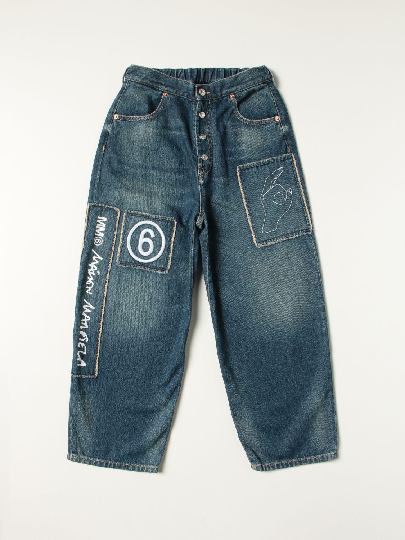 Jeans Mm6 Maison Margiela: Jeans kids Mm6 Maison Margiela denim 1
