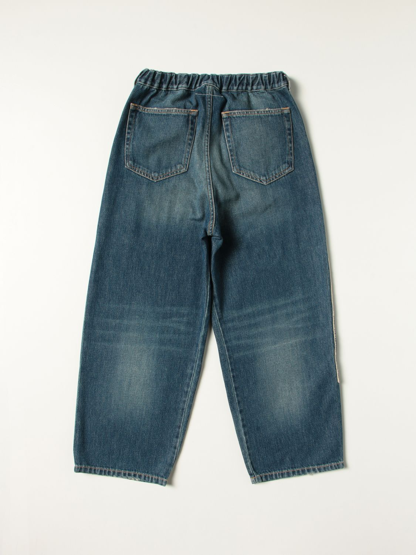 Jeans Mm6 Maison Margiela: Jeans kids Mm6 Maison Margiela denim 2