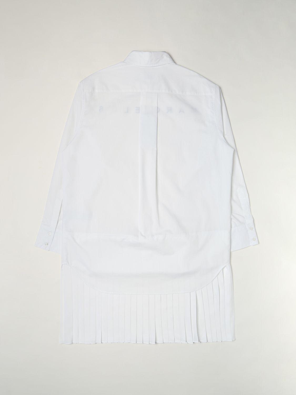 Dress Mm6 Maison Margiela: Dress kids Mm6 Maison Margiela white 2