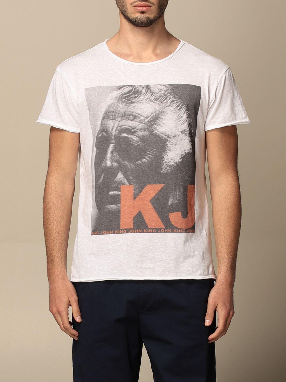 T-shirt 1921: 1921 cotton T-shirt with print white 1