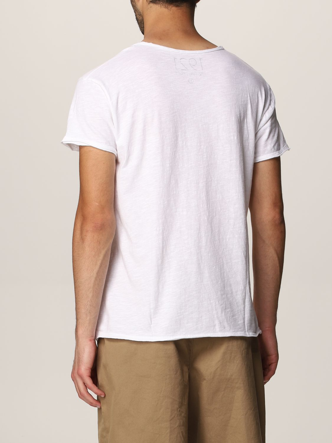 T-shirt 1921: T-shirt 1921 in cotone con stampa bianco 2