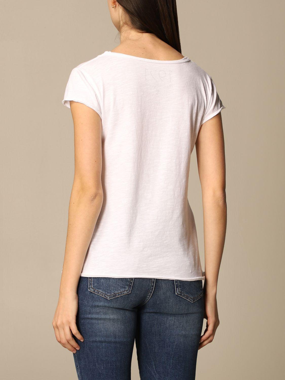 T-Shirt 1921: T-shirt damen 1921 weiß 2