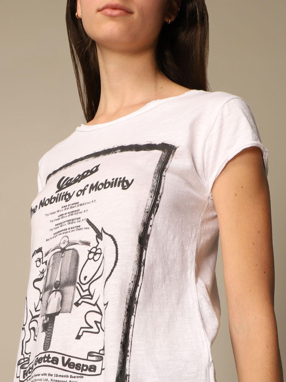 T-Shirt 1921: T-shirt damen 1921 weiß 3