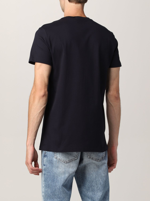 T-shirt Balmain: T-shirt Balmain in cotone con logo nero 3