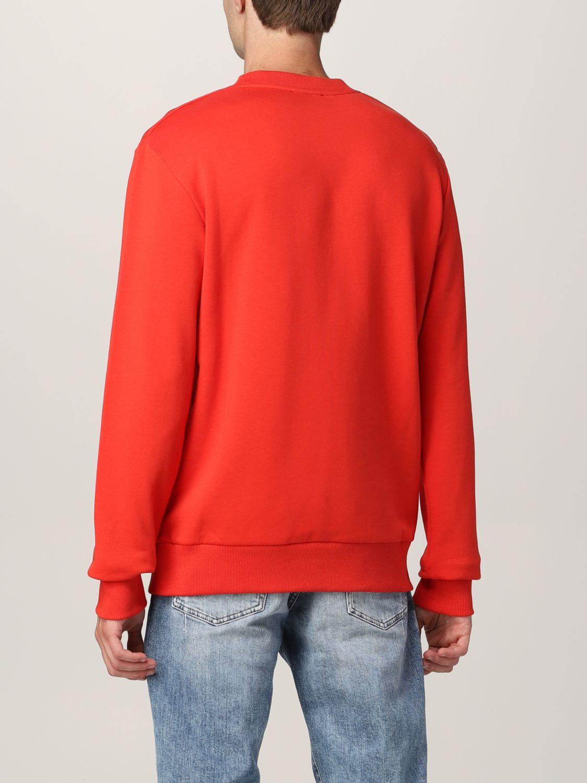 Sweatshirt Balmain: Balmain cotton sweatshirt with logo red 3