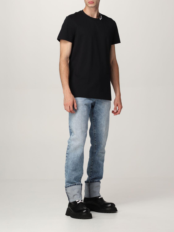 Jeans Balmain: Jeans Balmain a 5 tasche in denim washed denim 2