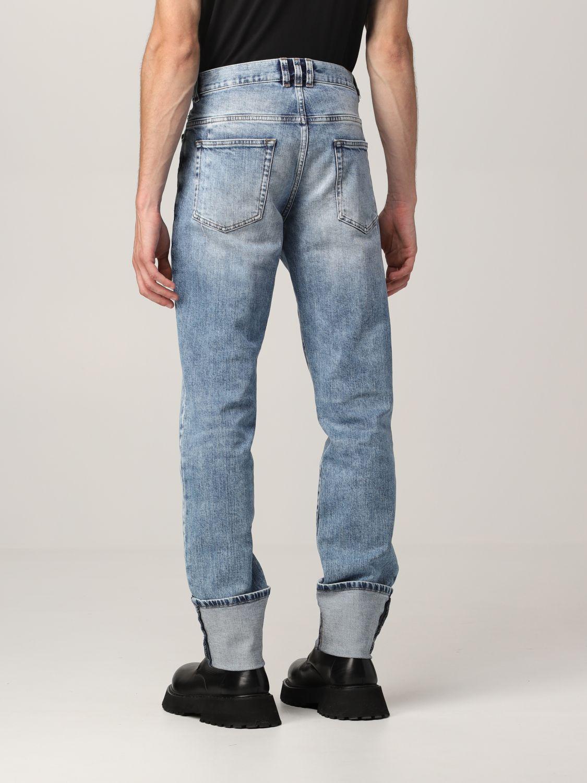 Jeans Balmain: Jeans Balmain a 5 tasche in denim washed denim 3