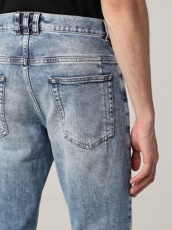 Jeans Balmain: Jeans Balmain a 5 tasche in denim washed denim 5