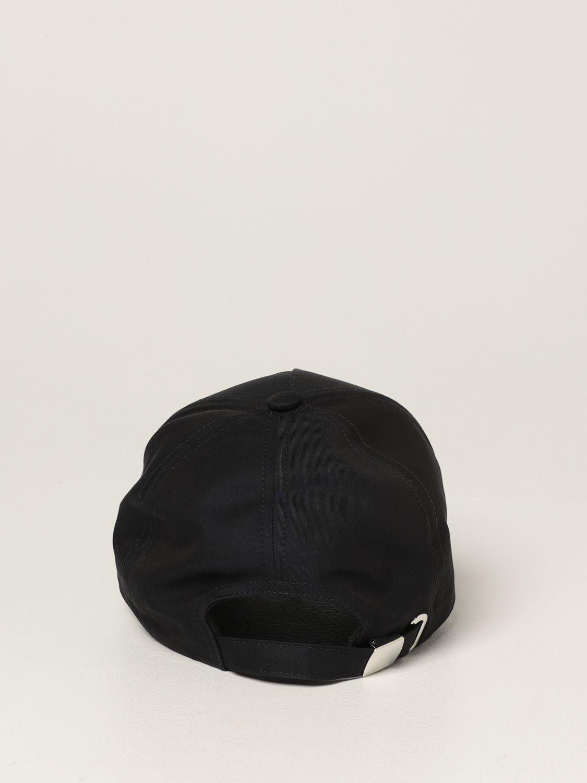 Hat Balmain: Balmain baseball cap with embroidered logo navy 3
