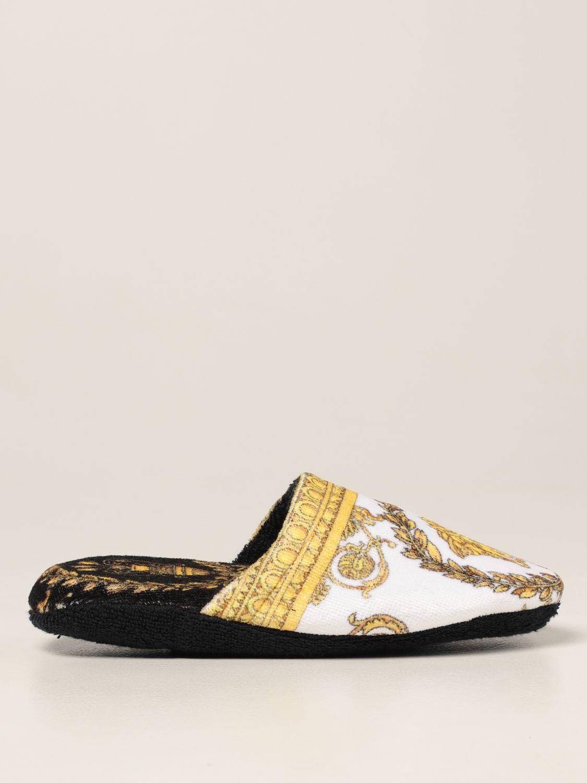 Flache Schuhe Versace Home: Schuhe damen Versace Home schwarz 1