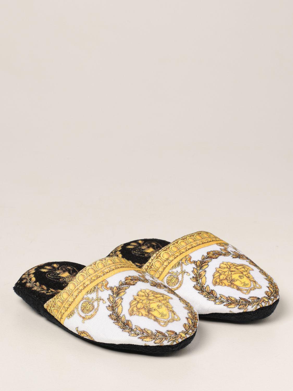 Flache Schuhe Versace Home: Schuhe damen Versace Home schwarz 2