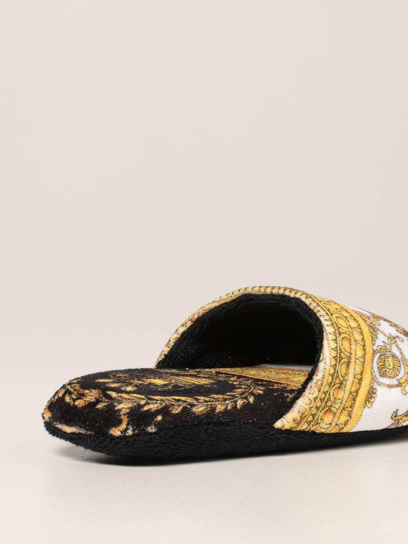 Flache Schuhe Versace Home: Schuhe damen Versace Home schwarz 3