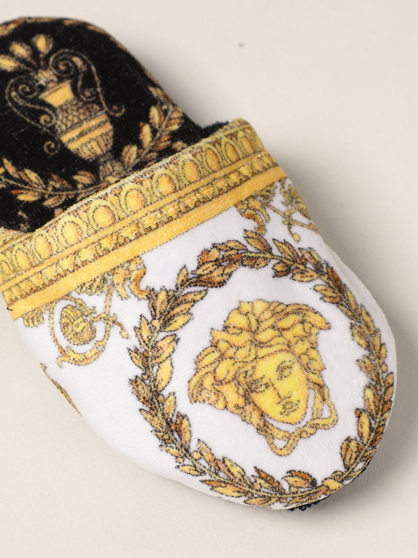 Flache Schuhe Versace Home: Schuhe damen Versace Home schwarz 4