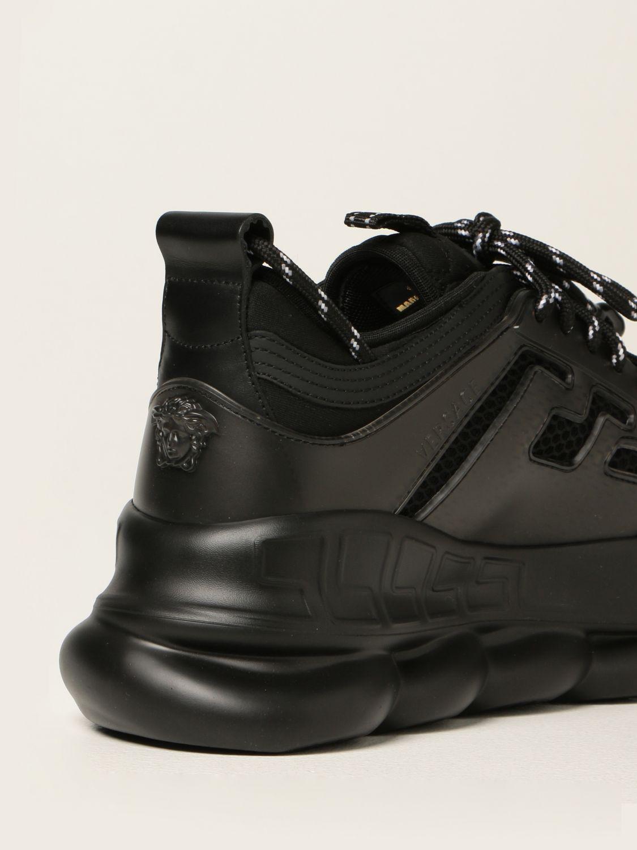 Sneakers Versace: Sneakers Chain Reaction Versace in rete nero 3