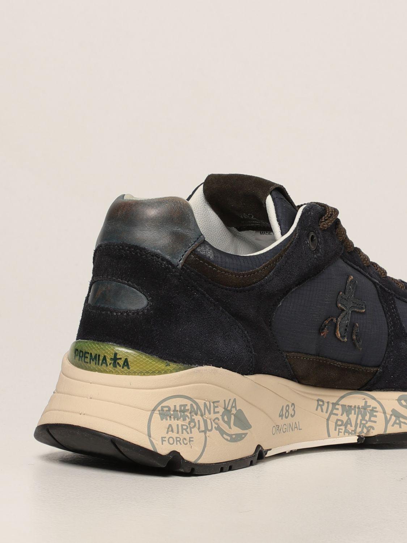Sneakers Premiata: Sneakers Mase Premiata in nylon e camoscio blue 3