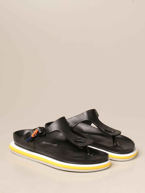 平跟凉鞋 Barracuda: 鞋 女士 Barracuda 黑色 2
