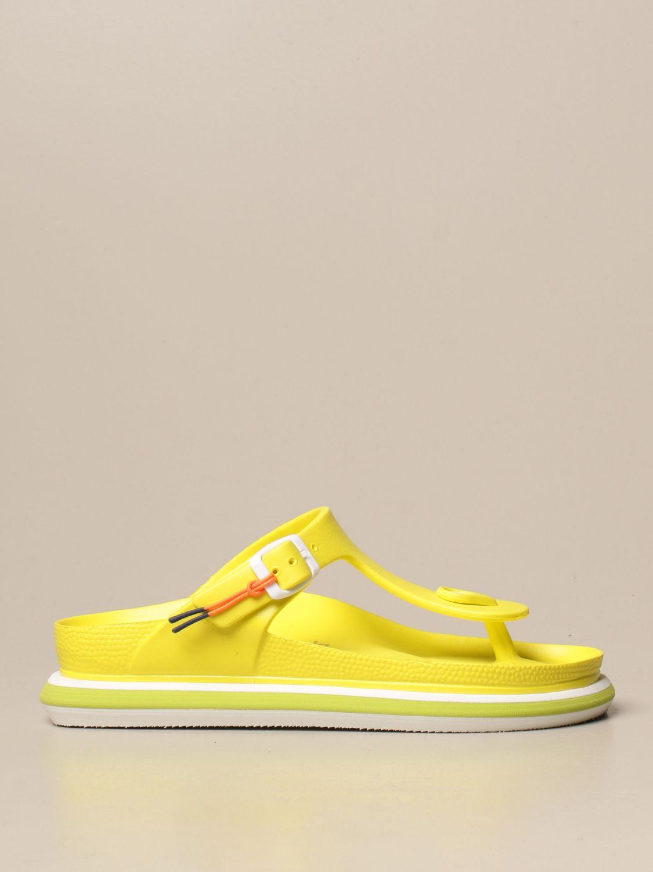 平跟凉鞋 Barracuda: 鞋 女士 Barracuda 黄色 1