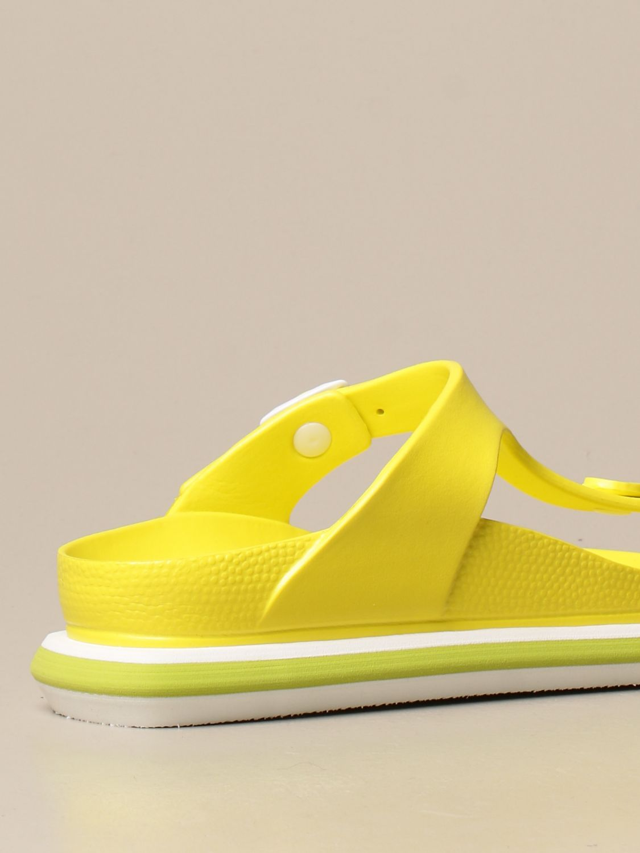 平跟凉鞋 Barracuda: 鞋 女士 Barracuda 黄色 3