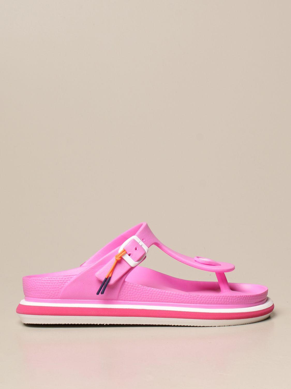 平跟凉鞋 Barracuda: 鞋 女士 Barracuda 紫红色 1