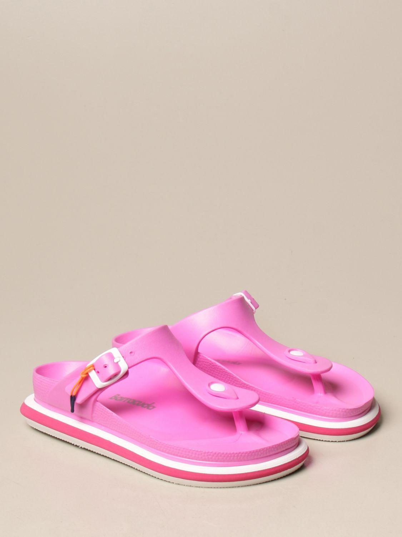 平跟凉鞋 Barracuda: 鞋 女士 Barracuda 紫红色 2