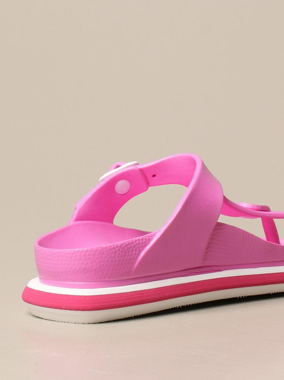平跟凉鞋 Barracuda: 鞋 女士 Barracuda 紫红色 3