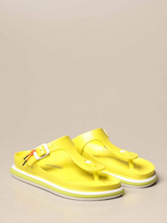 平跟凉鞋 Barracuda: 鞋 女士 Barracuda 黄色 2