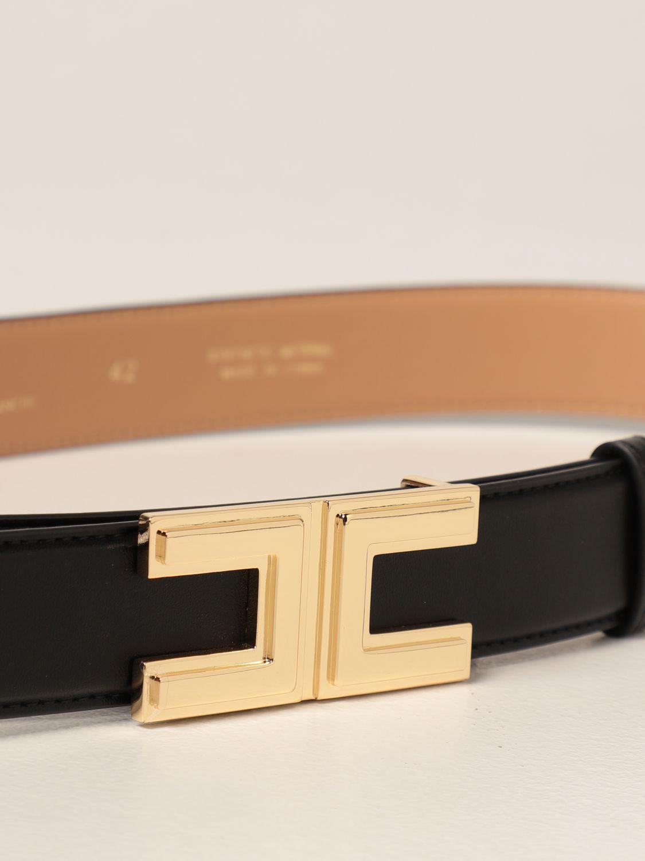 Cintura Elisabetta Franchi: Cintura Elisabetta Franchi in pelle sintetica nero 2