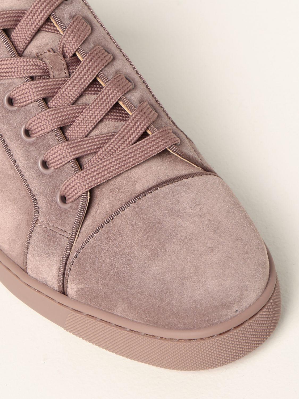 Sneakers Christian Louboutin: Sneakers Louis Junior Orlato Christian Louboutin in camoscio tortora 4