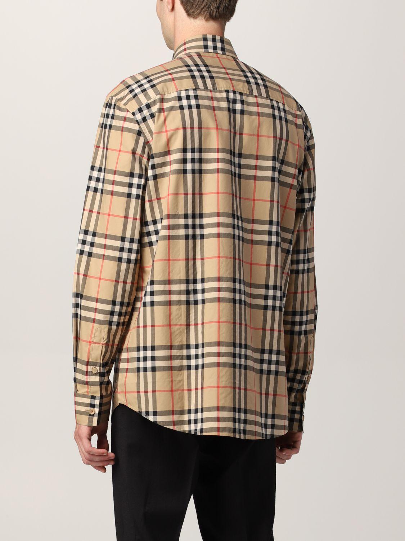 Camisa Burberry: Camisa hombre Burberry beige 2