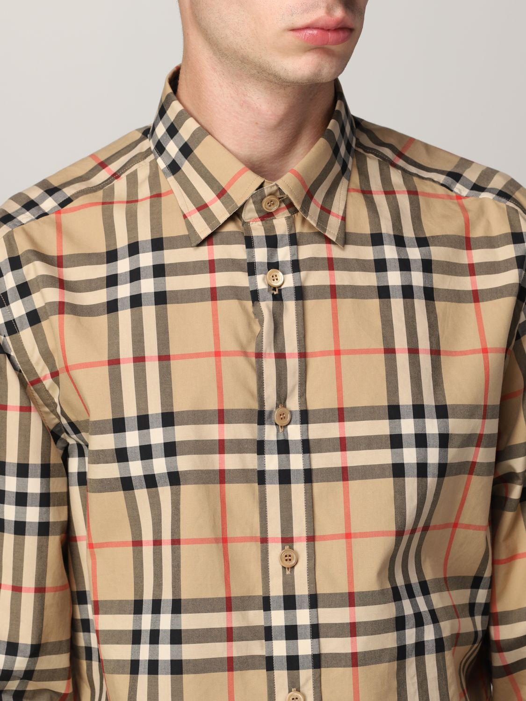 Camisa Burberry: Camisa hombre Burberry beige 4