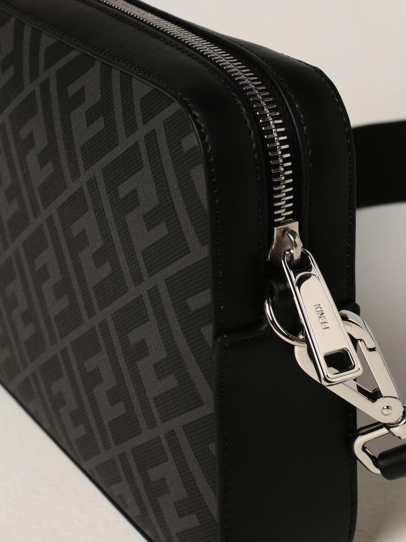 Borsa a tracolla Fendi: Borsa camera case Fendi con stampa FF Fendi nero 4