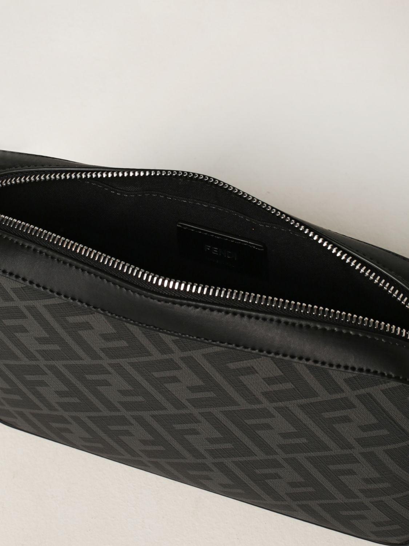 Borsa a tracolla Fendi: Borsa camera case Fendi con stampa FF Fendi nero 5
