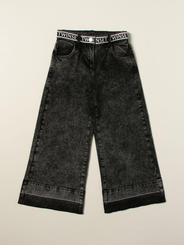 Jeans Twin Set: Jeans kids Twin Set black 1