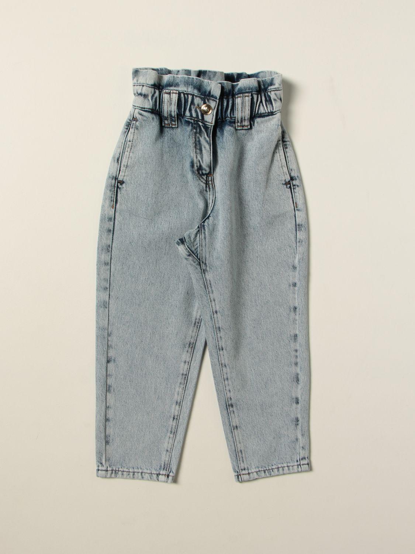 Jeans Twin Set: Jeans kids Twin Set stone washed 1