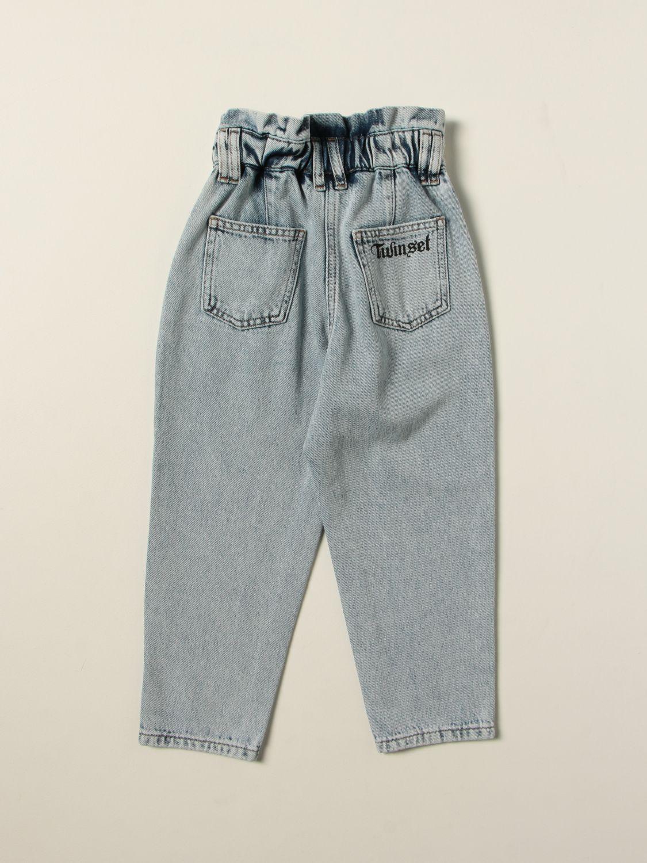Jeans Twin Set: Jeans kids Twin Set stone washed 2