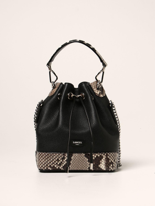 Lancel Handbag  Women Color Black