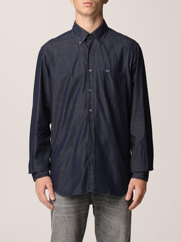 Camisa Xc: Camisa hombre Xc azul oscuro 1