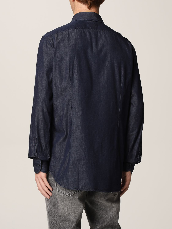Camisa Xc: Camisa hombre Xc azul oscuro 2