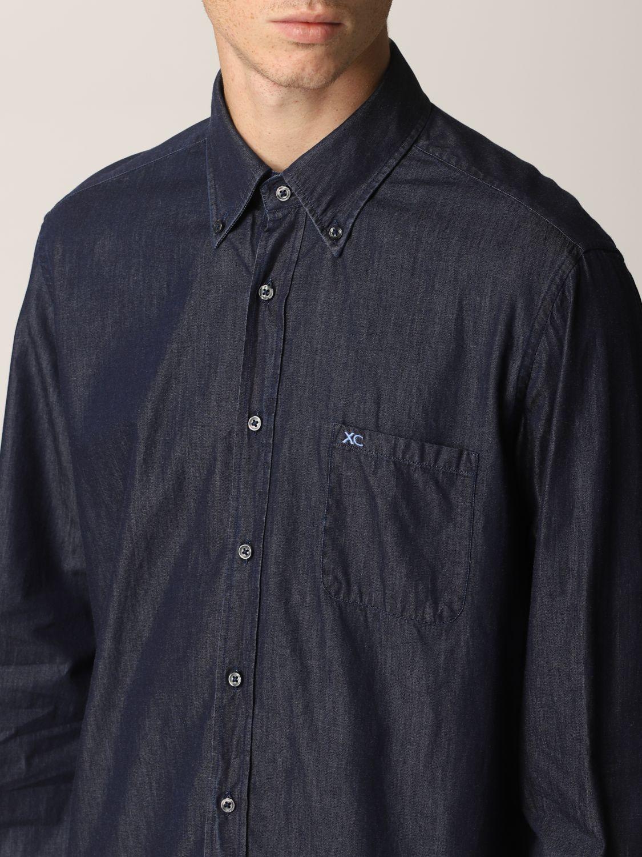 Camisa Xc: Camisa hombre Xc azul oscuro 3