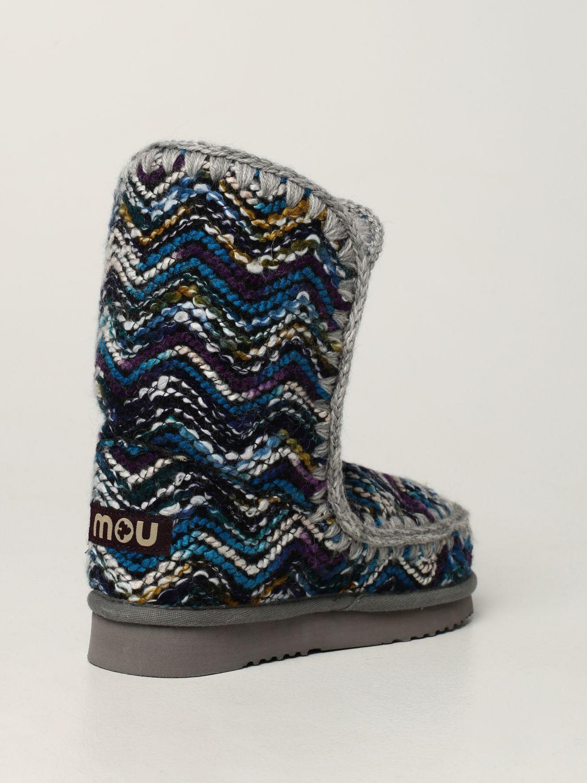 平底靴 Mou: 鞋 女士 Mou 浅蓝色 3