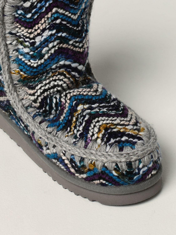 平底靴 Mou: 鞋 女士 Mou 浅蓝色 4