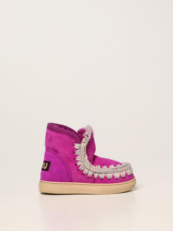 Chaussures Mou: Chaussures enfant Mou cyclamen 1