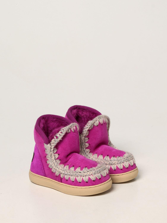 Chaussures Mou: Chaussures enfant Mou cyclamen 2