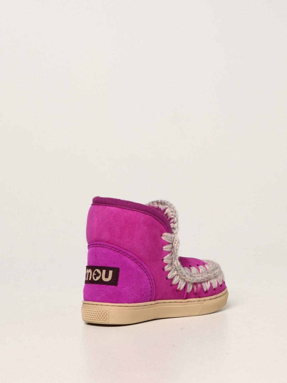 Chaussures Mou: Chaussures enfant Mou cyclamen 3