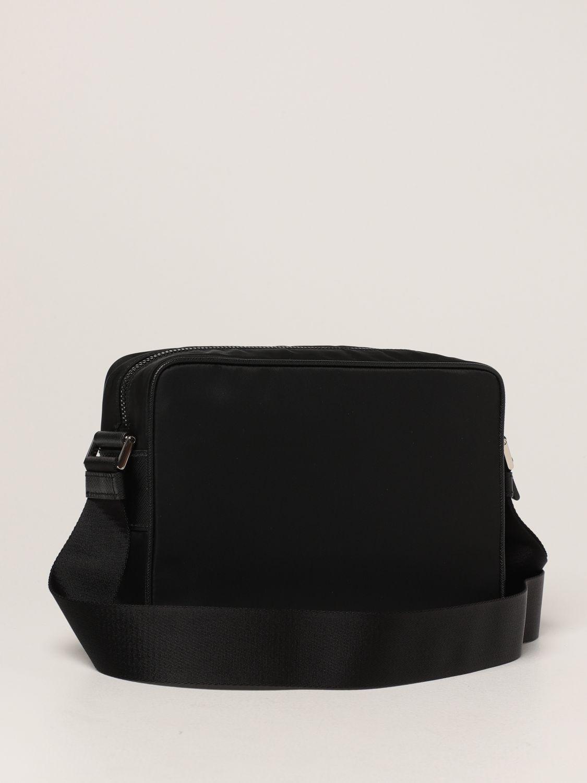 Borsa a tracolla Prada: Borsa a tracolla Prada in re-nylon nero 3