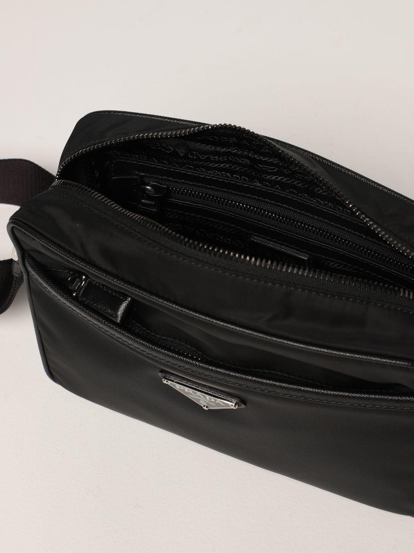 Borsa a tracolla Prada: Borsa a tracolla Prada in re-nylon nero 5