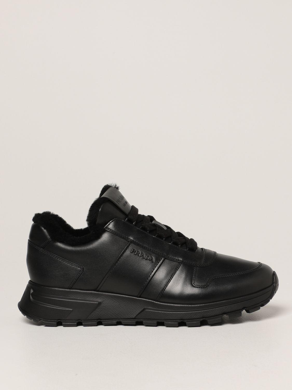 Sneakers Prada: Sneakers PRAX 01 Prada in pelle nero 1