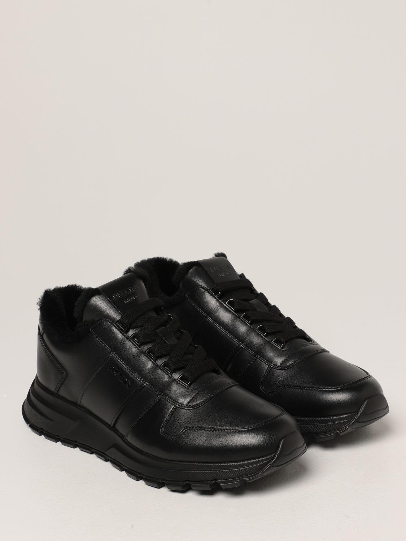 Sneakers Prada: Sneakers PRAX 01 Prada in pelle nero 2