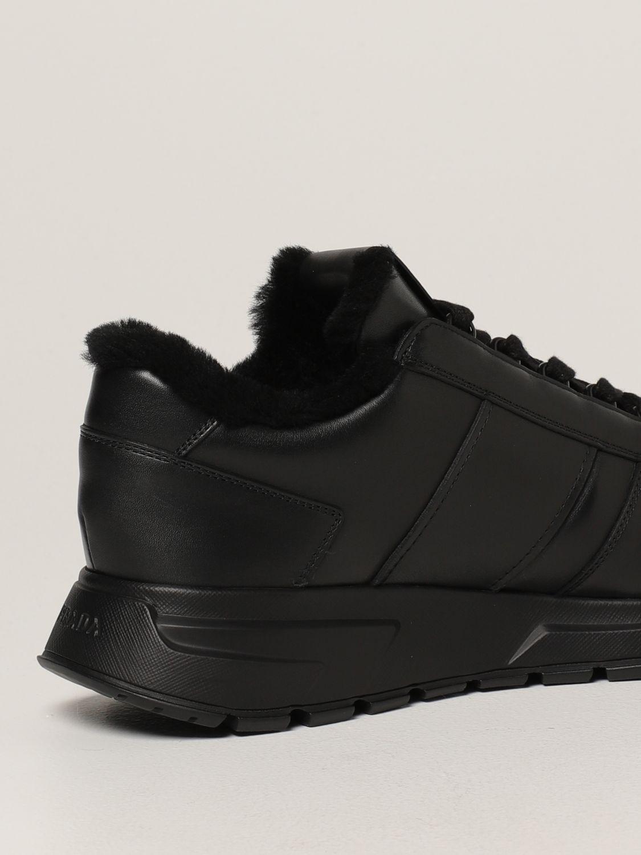 Sneakers Prada: Sneakers PRAX 01 Prada in pelle nero 3